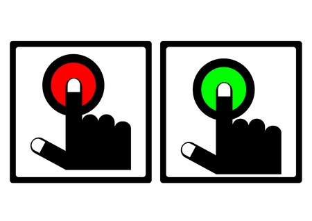 On Off switch,electrical switch, vector Stock Vector - 16060109