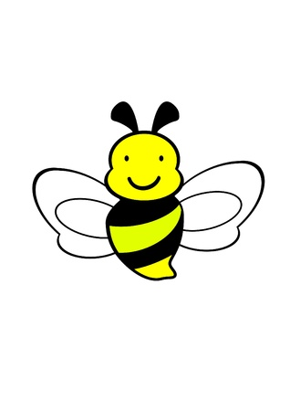 worker bees: bee icon,vector,bee drawing Illustration