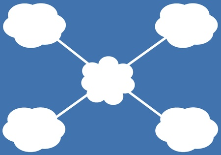 cloud icon Stock Vector - 16486104