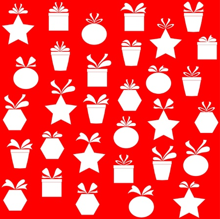 gift paper background ,vector Stock Vector - 16486486
