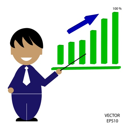 business icon,man icon,people icon,vector Stock Vector - 18108491