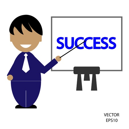 business icon,man icon,people icon,vector Stock Vector - 18108451