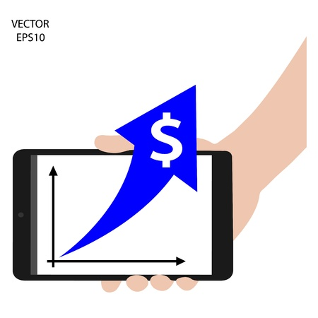 tablet on hand outline,smart phone on hand outline, tablet drawing,smart phone drawing,tablet symbol,smart phone symbol, vector Vector
