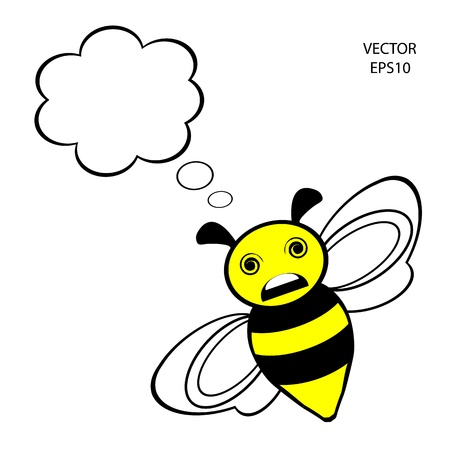 bee icon,bee drawing,bee outline Vector