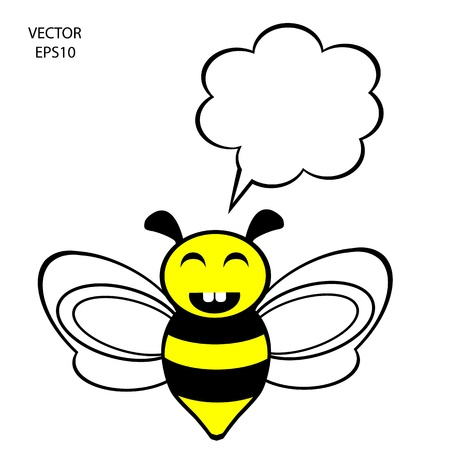 bee icon,bee drawing,bee outline Stock Vector - 18153094
