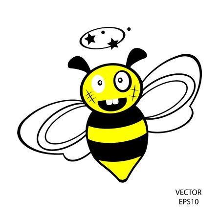 bee icon,bee drawing,bee outline,vector Vector