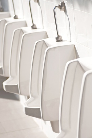 men toilet,public toilets  Stock Photo - 18194933