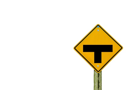 sign road on board with white background Stock Photo - 18293538