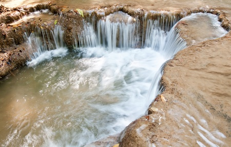 khamin: The Huai Mae Khamin Waterfall, Kanchanaburi, Thailand