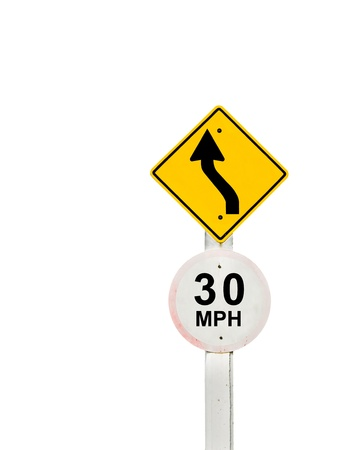 traffic sign on background, sign road board on background Stock Photo - 18428265