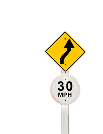 traffic sign on background, sign road board on background Stock Photo - 18428264
