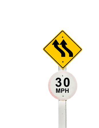 traffic sign on background, sign road board on background Stock Photo - 18428269