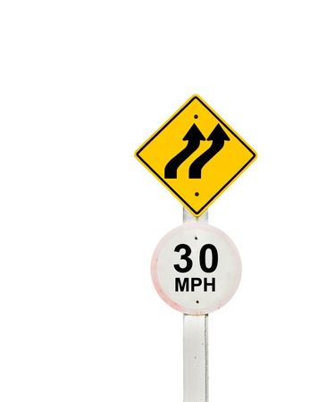 traffic sign on background, sign road board on background Stock Photo - 18428268