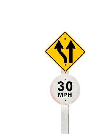 traffic sign on background, sign road board on background Stock Photo - 18428266