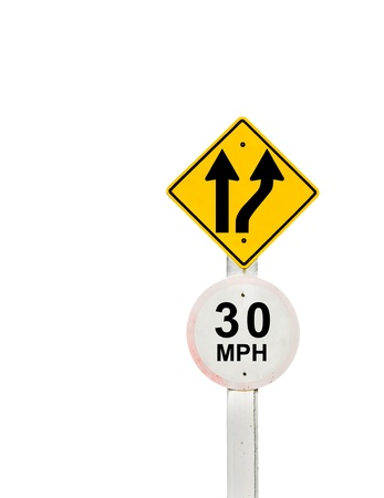 traffic sign on background, sign road board on background Stock Photo - 18428267
