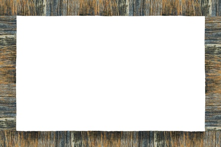 hardboard: old wooden frame,abstract background,vintage photo frame Stock Photo