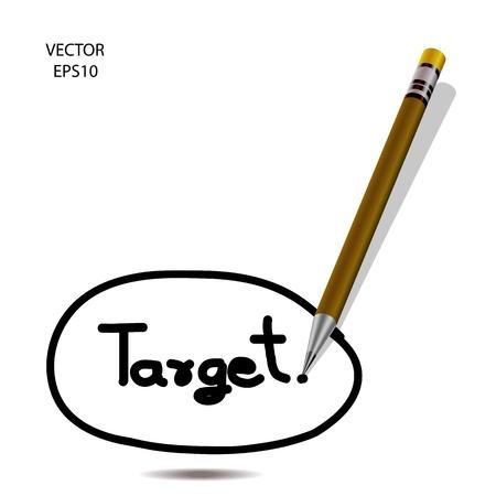 Home icon, color pencil icon, business symbol, concept of creation, drawing by color pencil, vector Stock Vector - 19123810