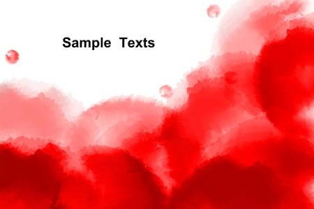 Watercolor background, Abstract background Stock Photo - 19175487