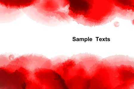 Watercolor background, Abstract background Stock Photo - 19175496