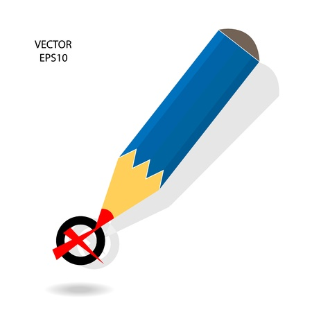 Drawing   sketching by color pencil, business concept, vector Stock Vector - 20334123