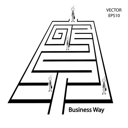 business way ,business icon Stock Vector - 20551002