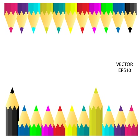 wallpaper: Pencil icon isolated on white Illustration
