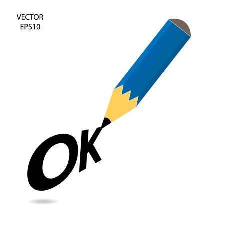 Drawing   sketching by color pencil, business concept, vector Stock Vector - 20776221