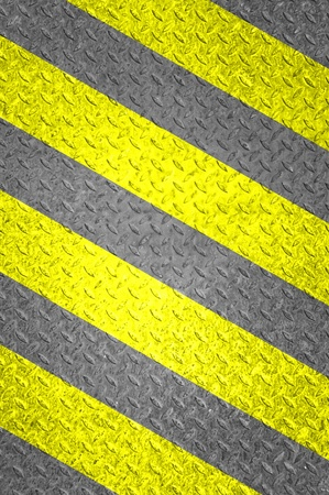 traffic sign on grunge floor, old background photo