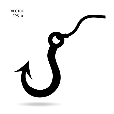 fishing hook icon Stock Vector - 21281541