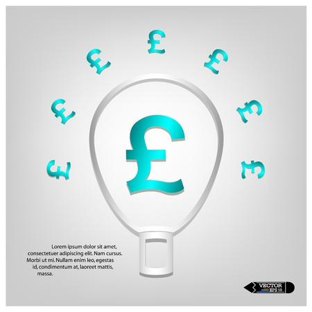 Concept of money banners ,texts box design  Vector Stock Vector - 21281640
