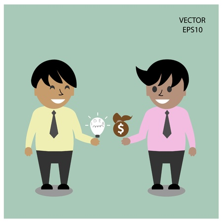 Businessman icon,business concept Stock Vector - 21446965