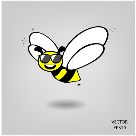 bee icon, bee drawing Stock Vector - 21446982