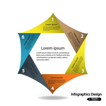 modern infographics options banner,colorful presentation template