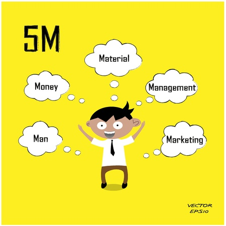 Icône d'affaires, concept d'entreprise Banque d'images - 21447172