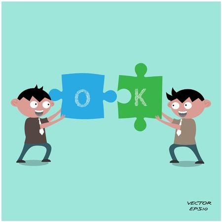 alianza: Icono del hombre de negocios, concepto de negocio