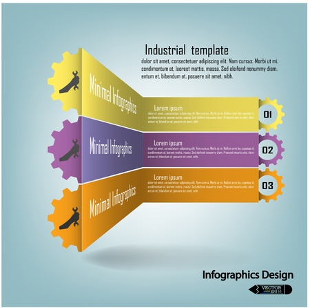 colorful infographics options banner  Vector illustration for workflow layout, diagram, number options, step up options, web design, infographics or presentation template Stock Vector - 21764457