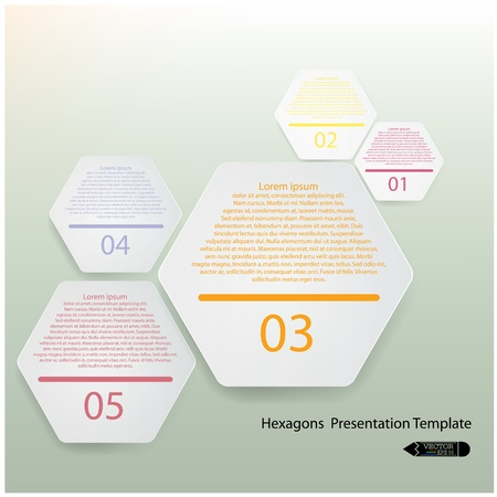 Modern Design Minimal style infographic template, presentation template ,vector illustration Stock Vector - 22124551