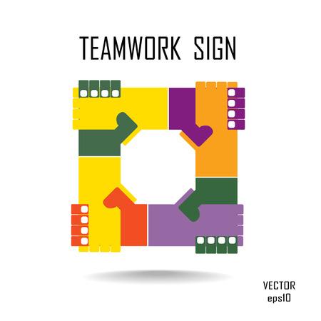 logo handshake: Handshake abstract logo vector design template  Business creative concept  Deal, contract, team, cooperation symbol icon