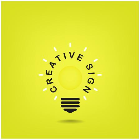 dea: Creative light bulb Idea concept background design for poster flyer cover brochure ,business dea ,abstract background vector illustration