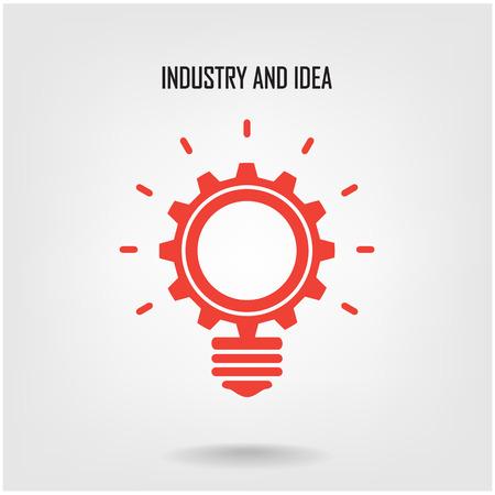Creative ampoule concept design fond pour la couverture brochure affiche flyer Banque d'images - 26024084