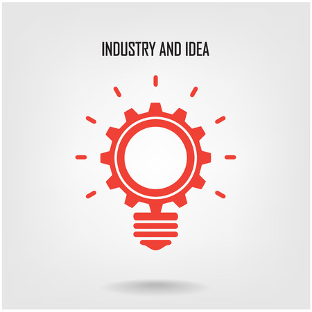 Creative light bulb concept background design for poster flyer cover brochure