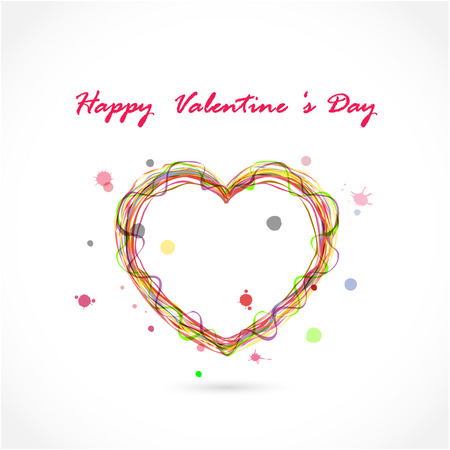 Happy valentine s day background.Vector illustration Vector