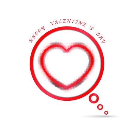 happy valentine s day: Happy valentine s day background.Vector illustration