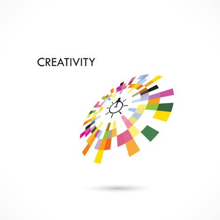 Creative circle abstract vector logo design template. Corporate business technology creative logotype symbol.Vector illustration