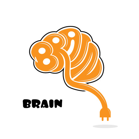 at sign: Brain sign