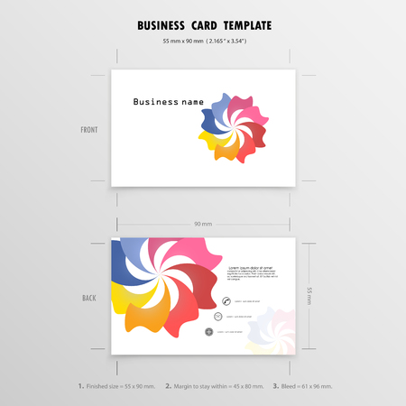 6154 millimeters stock illustrations cliparts and royalty free abstract creative business cards design template name cards symbol size 55 mm x 90 reheart Gallery