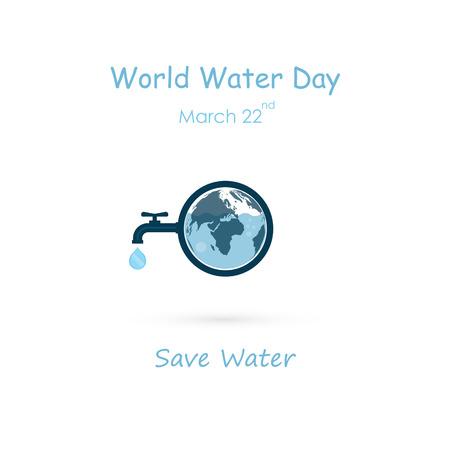 Icono de gota de agua y grifo de agua