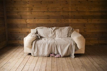 solitair: Old couch