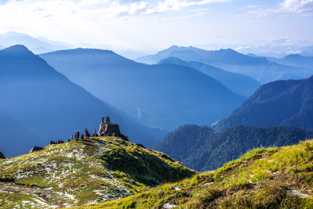 View From Khaliya Top Trek, Munsyari - Uttrakhand