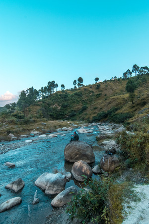 River in Uttrakhand - Himalaya